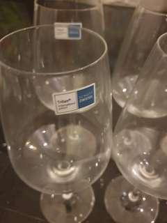 Brand new Schott Zwiesel wine glasses