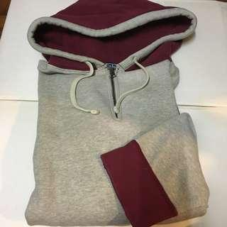 Polo Ralph Lauren red and grey hoodie