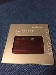 SWISSCARD CLASSIC 瑞士軍刀