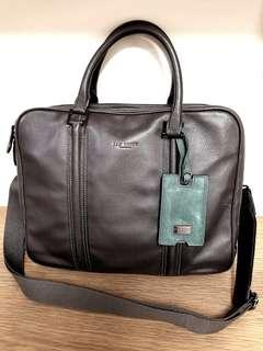 90% new Ted Baker briefcase Charcoal color 煤炭色
