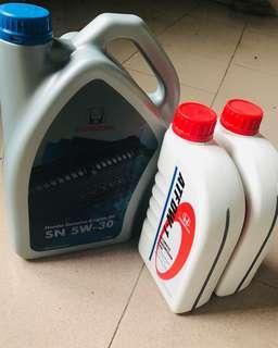 Honda Engine Oil+ATF