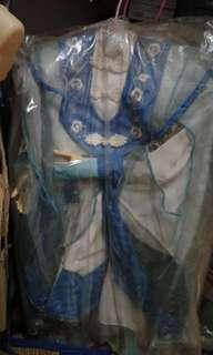 早期布袋戲偶衣    莫召奴    手佈分是早期木材手   如圖上