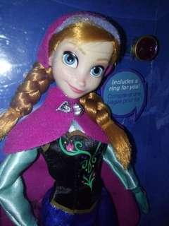 Authentic Anna frozen doll