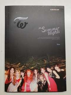 [WTS] TWICE UNSEALED 2× Summer Nights Version C