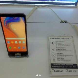 Samsung Galaxy A7 2018 bisa di cicil gratis 1x angsuran