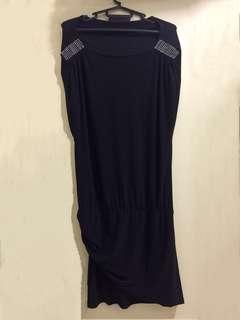 Black color dinner dress