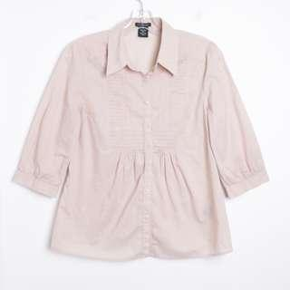 Calvin Klein light pink cotton shirt M medium