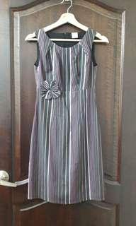 🚚 Odette striped dress (S size)