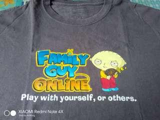 Family Guy Baju Tee T Shirt Anime Cartoon Bundle