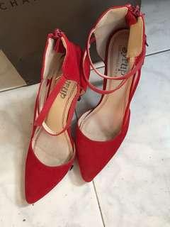 Authentic Syrup Red Stilleto