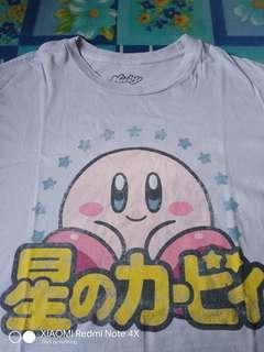 Kirby Baju Tee T Shirt Anime Cartoon Bundle