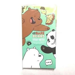 Sale! We Bare Bears Sticky Notes Memopad (1pc)
