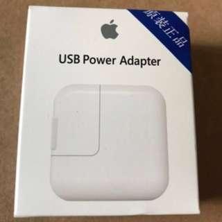 🚚 蘋果原廠【iPhone充電頭】12W Apple原廠充電頭iPhone iPod iPad 快充 豆腐頭 充電器