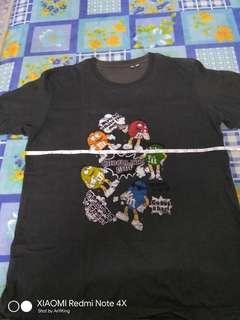 M&Ms Chocolate Baju Tee T Shirt Anime Cartoon Bundle