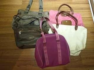 Assorted Branded Bags All Authentic all 5 for 3k