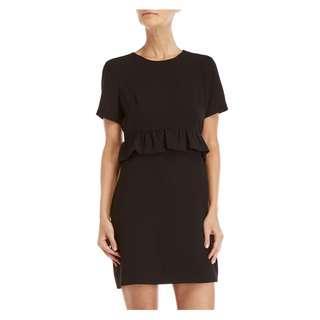 $229 Club Monaco Black Bridette Work/Office Dress Size 00