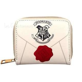 Harry Potter Zip Wallet Hogwarts Acceptance Letter Coin Purse Zipped PU Leather