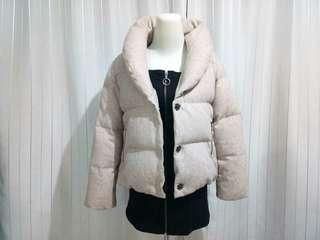 Down Jacket Jaket Musim Dingin Winter Coat size M