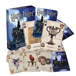 Harry Potter Playing Cards Symbols Hogwarts House Poker Card