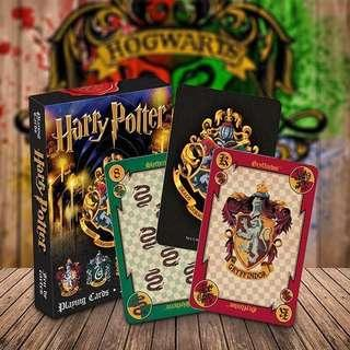 Harry Potter Playing Cards Hogwarts House Poker Card