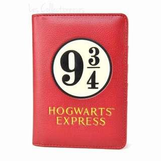 Harry Potter Platform 9 3/4 Passport Cover Hogwarts Express PU Passport Holder