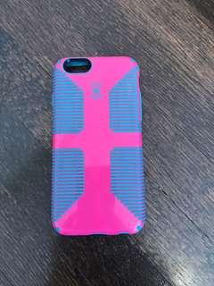 Speck Pink and Blue iPhone 6/6S Case