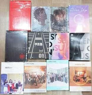 Various Unsealed Albums