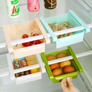 ❤Kitchen♨️ Fridge Freezer Space Saver Organizer Storage Rack Shelf Holder