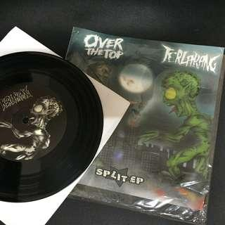 "Terlarang / Over The Top (Split Ep 7"" Vynil Record)"