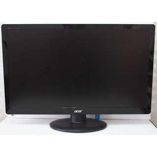 acer 23型LED薄型雙介面顯示器