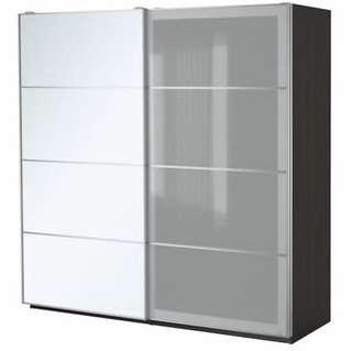 IKEA PAX Wardrobe (200 by 66 by 236cm)
