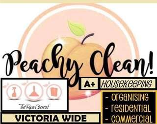 AVAILABLE NOW - PEACHY CLEAN HOUSEKEEPING SERVICES VICTORIA