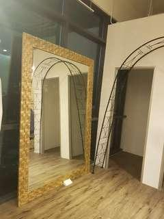 Super Huge Golden Mirror