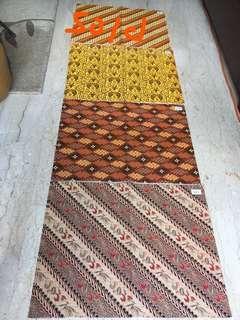 Batik print wrapping paper