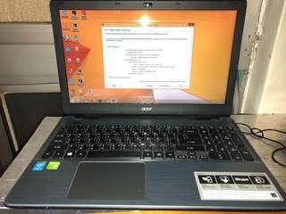 ACER E15 i5 4210U free instal Photoshop/premierpro