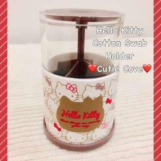 *IN STOCK IN SG* Hello Kitty Cotton Swab Holder