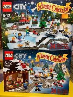 Lego 60024/60099 Advent calender