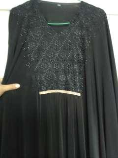 Black Dress jubah abaya Arab Saudi collection
