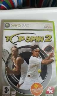 Xbox Game TOP SPIN 2