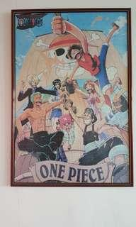 One Piece Puzzle with Frame