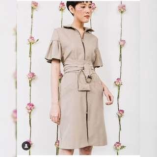 SUKI The Label Kuma Dress in Olive