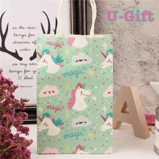 🚚 [PS]10 Pcs Unicorn Paper Bag