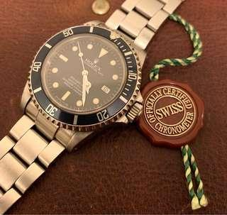 Rolex 16660 mark lll 魔鬼深潛