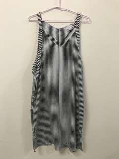 黑白條紋洋裝
