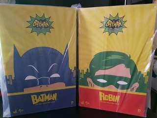 MMS 218/219 1966 Classic Batman and Robin