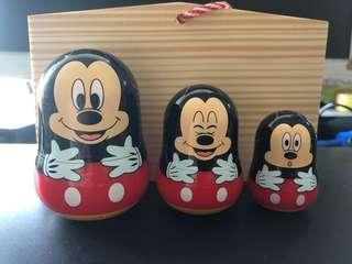 米奇老鼠 套娃娃公仔擺設