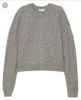 Aritzia Community Madras Sweater (XS)