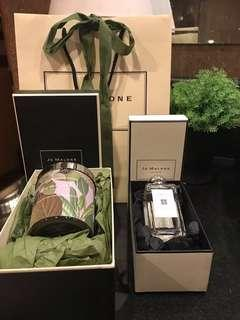Jo Malone Nectarine Blossom & Honey Cologne with FREE 💝 LIMITED EDITION  Jo Malone Blackberry & Bay Home Candle by Michael Angove