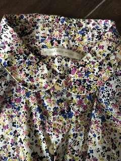 購自🎌日本🇯🇵小文青碎花🦋🌺🌼襯衫