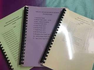 o level prelim papers chemistry physics